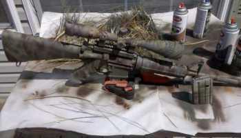 DIY: Camo Paint Your Rifle - Sponge Style