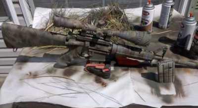 DIY: Camo Paint Your Rifle – Sponge Style