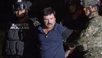 Mexican Cartel Boss ' El Chapo' Guzman Moved to Jail on U.S. Border