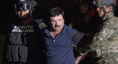 Mexican Cartel Boss ' El Chapo' Guzman Moved to Jail on U.S. Border