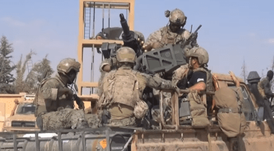 Watch: U.S. special operators (possibly MARSOC) spotted outside of Raqqa