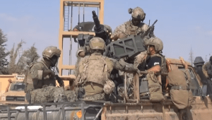 VIDEO: U.S. special operators (possibly MARSOC) spotted outside of Raqqa