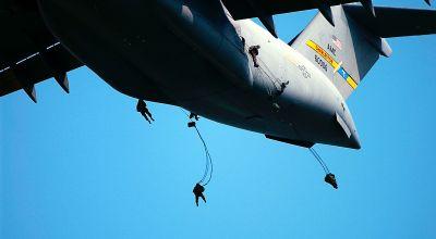Watch: U.S. and International SOF Conduct Airborne Operations