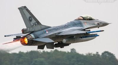 Burner Friday: RNLAF 312 Sqn F-16