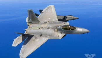 "F-22 Raptors ""Encourage"" Syrian Su-24's To Leave"