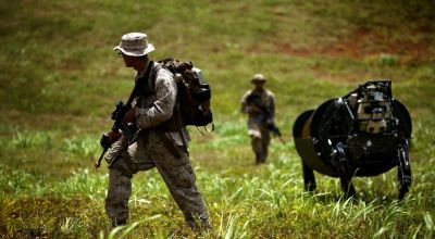 Corps Sees Hurdle in Getting Marines to Bond with Robotic Battle Buds