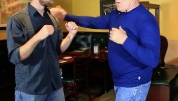 Watch: Legendary fighter Jim West says, in a street fight, go for the groin