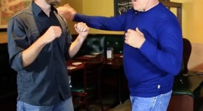 "Watch: Stand & Fight with Jim West- ""In a street fight, always go for the groin!"""