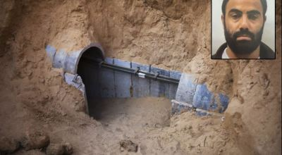 Shin Bet (Israel Security Agency) obtained new information on tunnel system from captured Hamas member