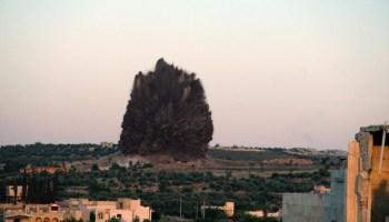 Watch: Massive Tunnel Bomb Detonation in Syria