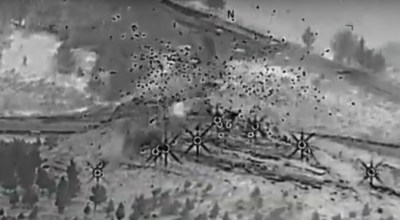 Watch: Airstrike Annihilates Daesh [ISIS/ISIL] Tactical Unit