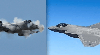 Watch: A-10 Vs. F-35 Close Air Support Ground Attack Cannons – A BRRRRT! Comparison