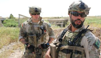 Watch: Canadian special operations forces training Peshmerga in Iraq