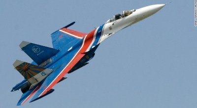 Russia grounds Su-27 jets after crash