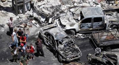 Twin Blasts Near Damascus Kill 12, Wound Dozens