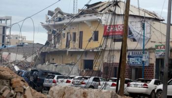 Heavy Gunfire and Explosions at a Hotel in Mogadishu- 15 reported dead
