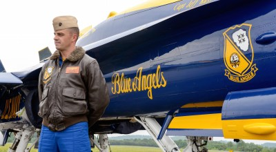 "Blue Angel's CAPT. Jeff ""Kooch"" Kuss"