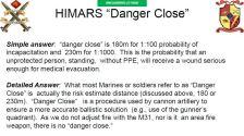 """""""Danger Close"""" details for HIMARS"""