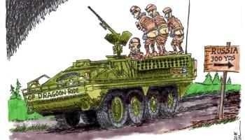 NATO allies respond to Putin