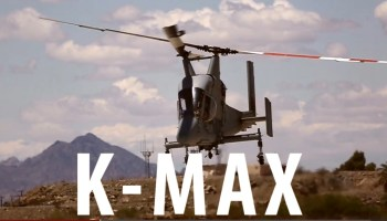 Watch: The Marine Corps New Twin-Blade, Kaman, K-MAX Helicopters