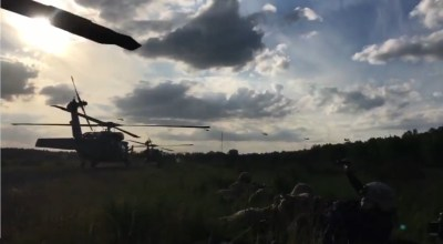 Watch: Combined Air Assault Operation in Poland – NATO Continues, Despite Russian Threats