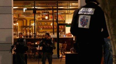 Police official says Palestinians 'celebrating' terrorist attack that left 4 dead in Tel Aviv