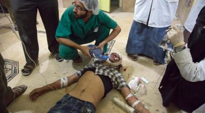 Where CPR on a Boy Is Time Wasted: U.S. Doctors Recall Aleppo's Horrors