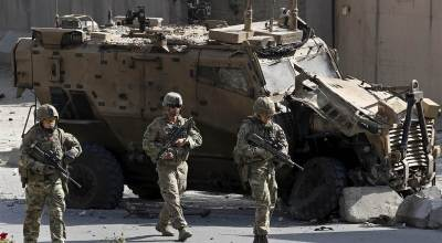 US general says 5 US troops wounded in Afghan fighting