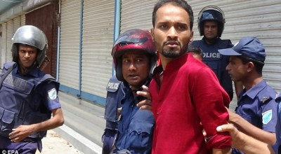 Police officer hacked to death and another police officer killed in Bangladesh during Eid prayer