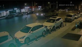 Watch: Man tries to stop two tanks with a handful of rocks during failed coup in Turkey, gets run over twice