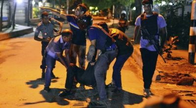 Watch: 20 hostages dead after 10 hour standoff with ISIS terrorists at cafe in Bangladesh