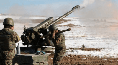 ANA D30 Howitzer – Afghan Army Fire Support