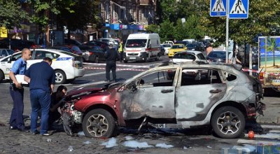 Deadly Car bomb in Kiev, Forbes journalist stabbed in park – FBI to join investigation