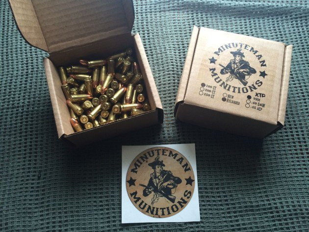 Minuteman Munitions Precision Ammunition - 9mm