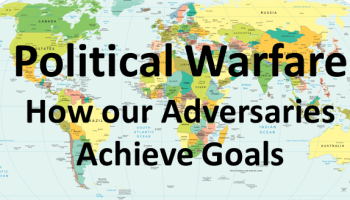 Map of the World - Political Warfare