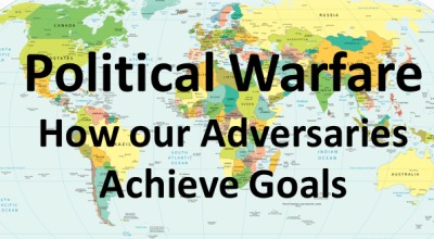 Political warfare – Defining the contemporary operating environment