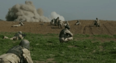 Watch: 101st Airborne Aid and assist engaging Daesh (ISIS) in Iraq
