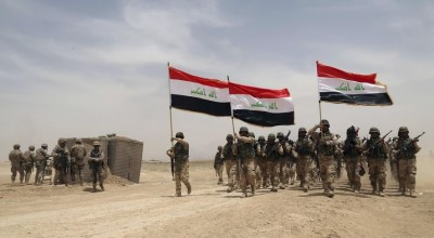Iraq's 'Black Devils' strike fear in the ISIS terrorists they hunt