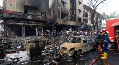 Iraq: Death toll from IS-claimed bombing climbs to 142