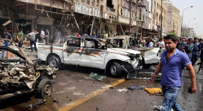 Officials: Bombing in central Baghdad kills at least 18