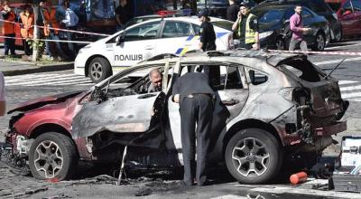 Prominent journalist killed in apparent car bomb assassination