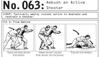 '100 Deadly Skills, Survival Edition': How to survive an ambush or active shooter