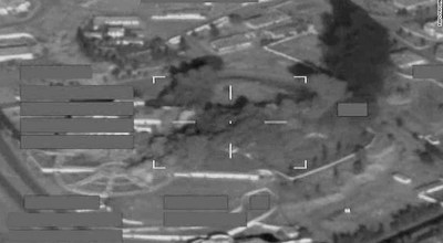 British jets strike ISIS training camp in Saddam Hussein's former palace