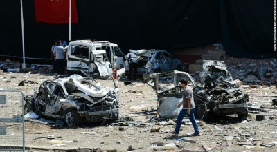 Police targeted in three bombings in Turkey, 10 people killed and at least 300 wounded