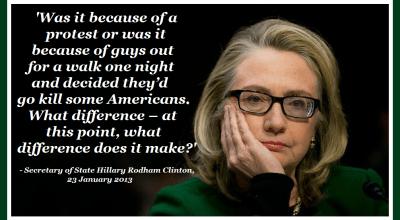 Families of Benghazi fallen sue Hillary Clinton