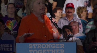 Clinton 'disavows' support from father of Orlando nightclub shooter