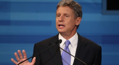 Is 2016 the year of the third candidate? Gary Johnson thinks so