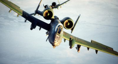 Watch: A-10 ground attack jets land on Estonian highway