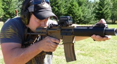 Suppressed Armament Systems | Blast Diverter