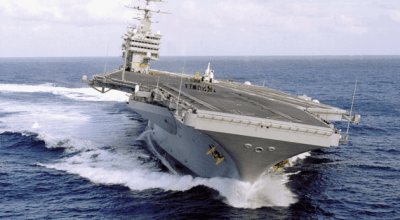 Watch: Time Lapse Operations On Carrier Flight Deck